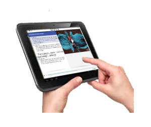Tablet-with-image-of-wound-healing